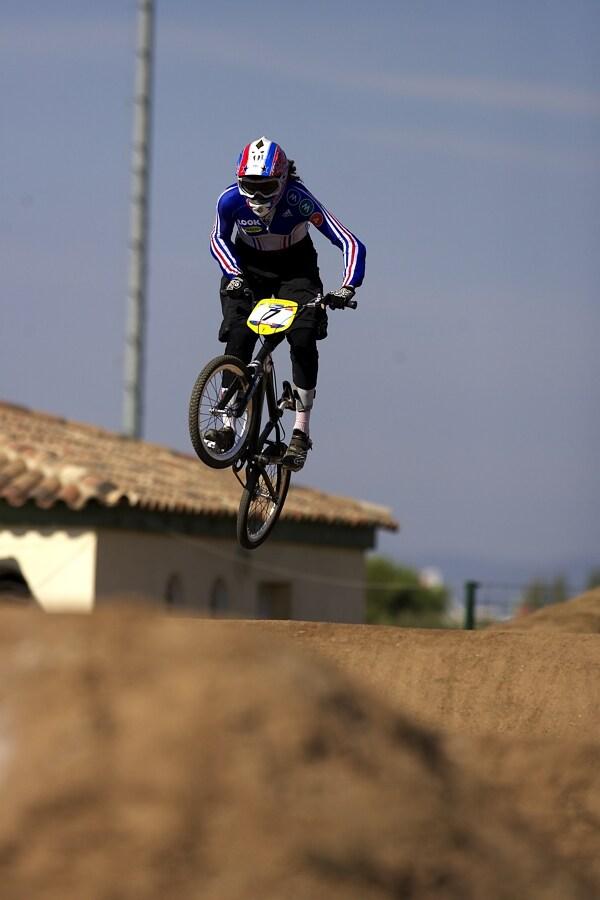 UCI BMX SuperX   13.-14.10. 2007 - Frejus, Francie - Ann Caroline Chausson