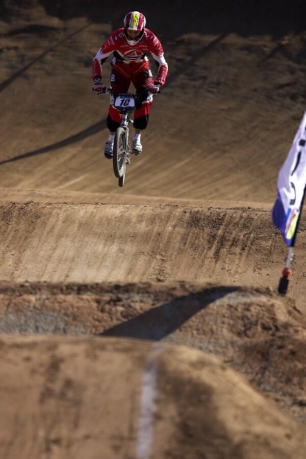 UCI BMX SuperX   13.-14.10. 2007 - Frejus, Francie - Lukáš Tamme