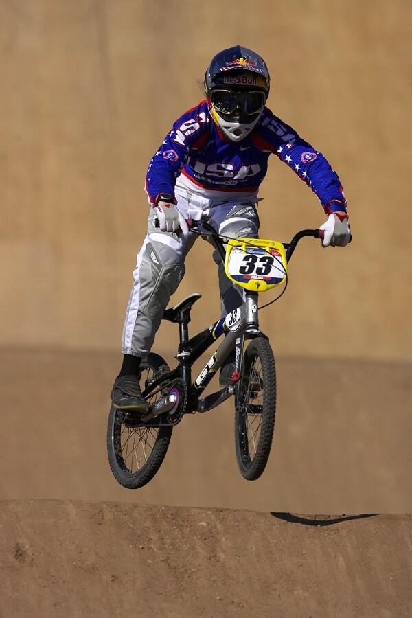 UCI BMX SuperX   13.-14.10. 2007 - Frejus, Francie - Jill Kintner