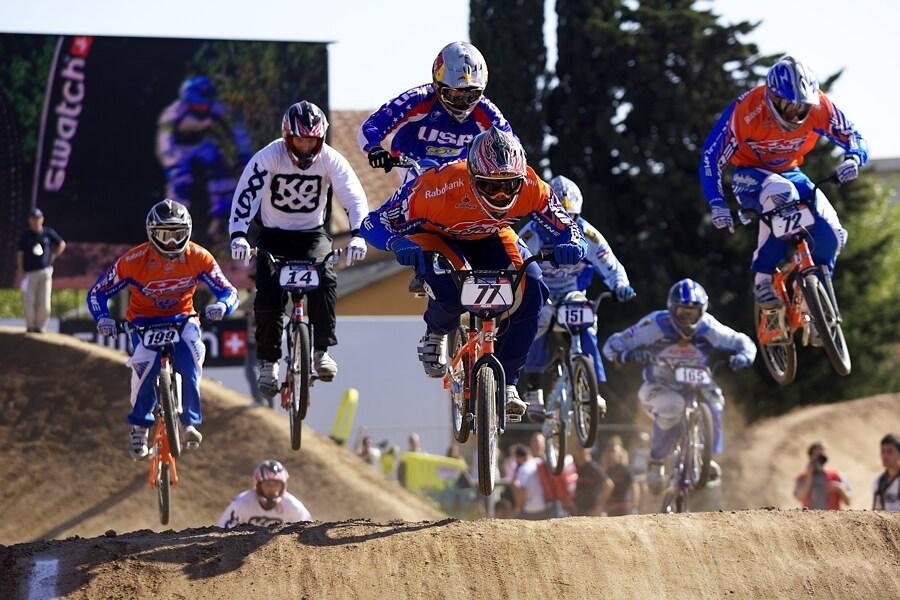 UCI BMX SuperX   13.-14.10. 2007 - Frejus, Francie - se 77. Robert de Wilde - vítěz seriálu
