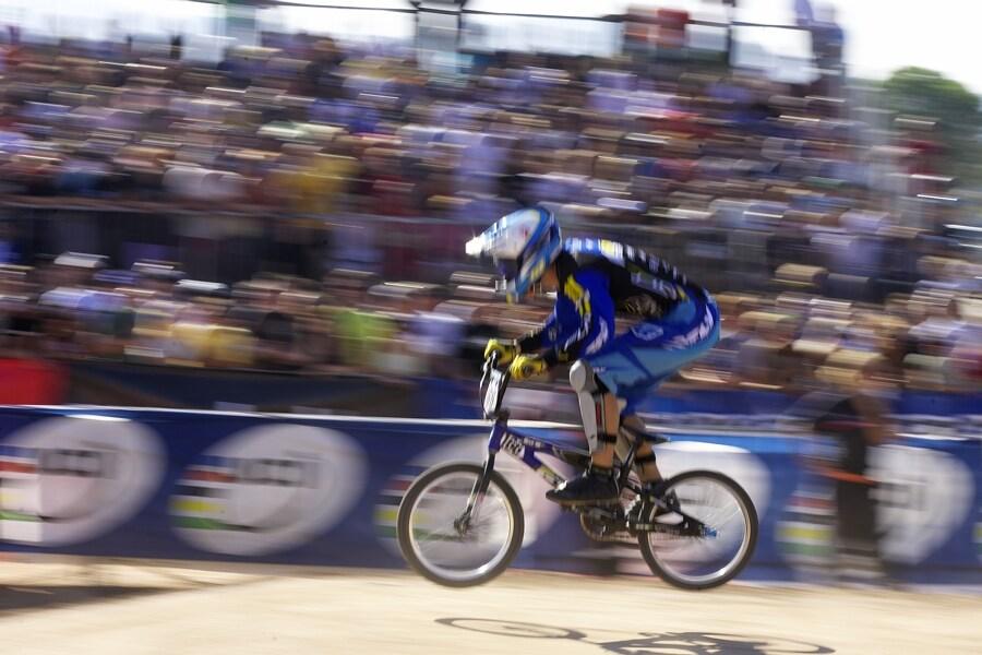 UCI BMX SuperX   13.-14.10. 2007 - Frejus, Francie - Tomáš Slavík