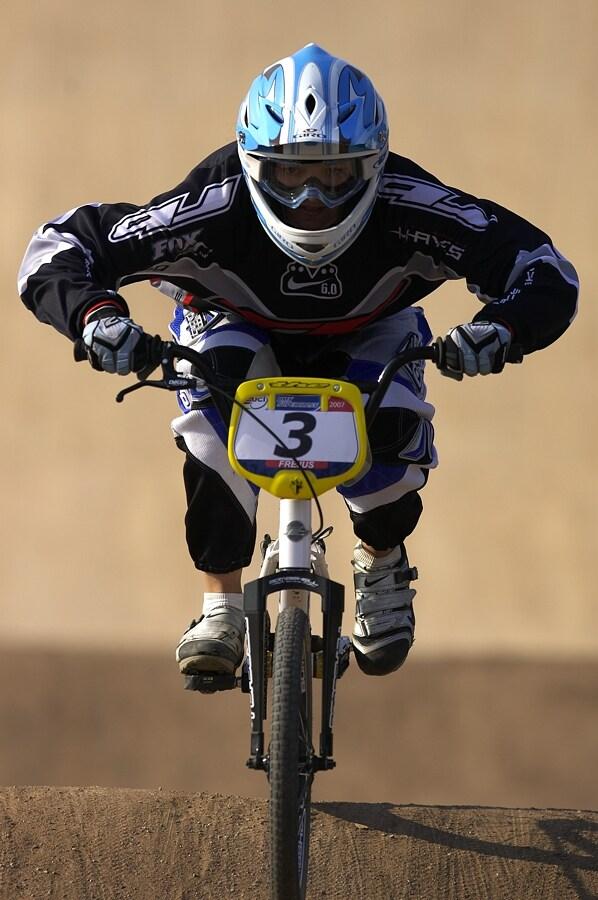 UCI BMX SuperX   13.-14.10. 2007 - Frejus, Francie - Jana Hor�kov�