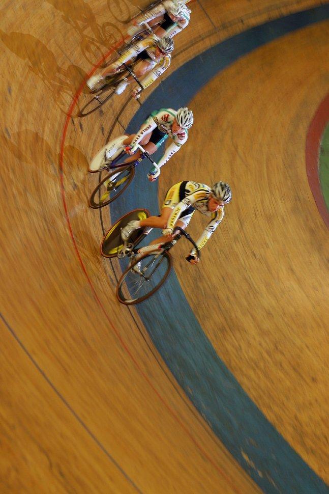 MČR 2008 dráha - bodovací závod