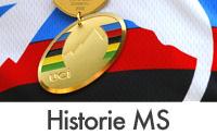 Medailový přehled předchozích mistrovství světa horských kol
