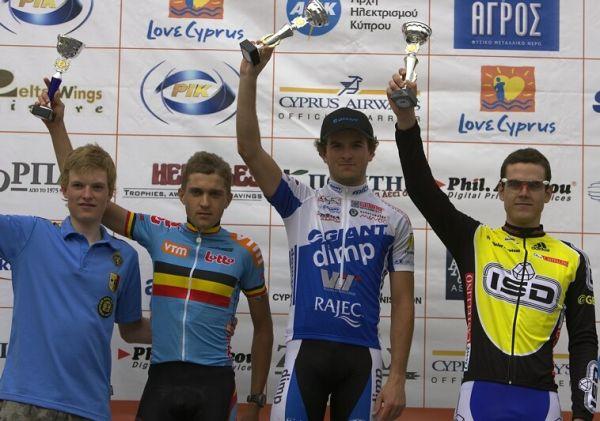 Sunshine Cup #4 - Voroklini/Kypr - 9.3. 2008 - Jan Škarnitzl jako vítez kategorie U23