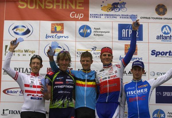 Sunshine Cup #4 - Voroklini/Kypr - 9.3. 2008 - 1. Paulissen, 2. Spěšný, 3. Kulhavý, 4. Soukup, 5. Kugler