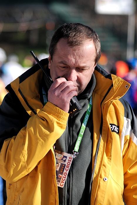 MS CX 2008 Treviso - Reprezentační trenér Petr Klouček