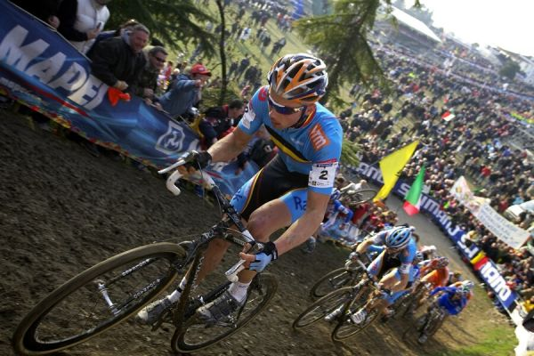 MS cyklokros 2008, Treviso - Itálie 27.1. - Sven Nijs