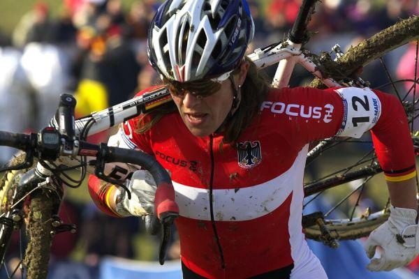 MS cyklokros 2008, Treviso - Itálie 27.1. - Hanka Kupfernagel