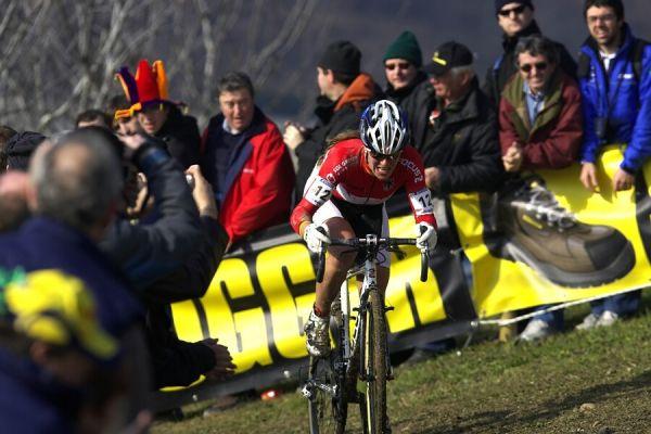MS cyklokros 2008, Treviso - Itálie 27.1. - Janka Kupfernagel
