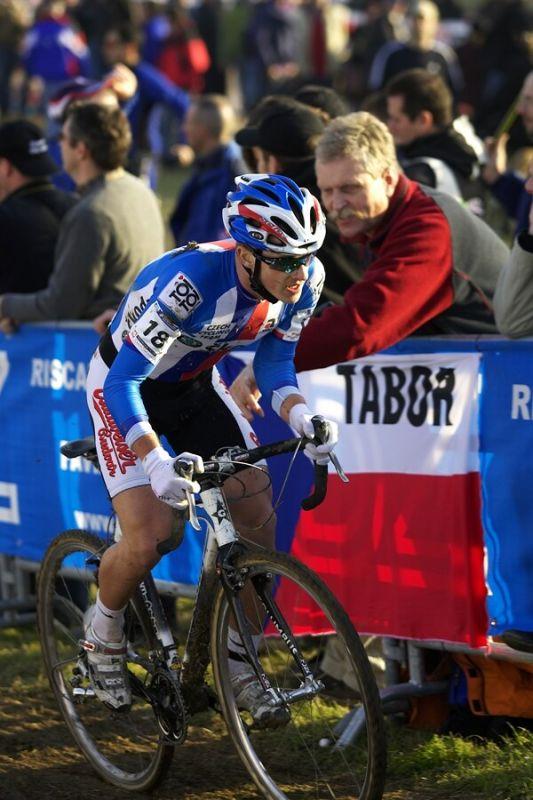 MS Cyklokros 2008, Treviso - Itálie 26.1. - Lukáš Klouček