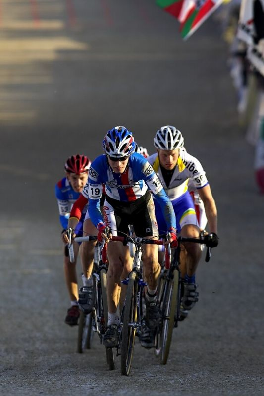MS Cyklokros 2008, Treviso - It�lie 26.1. - skupinka s Ji��m Polnick�m
