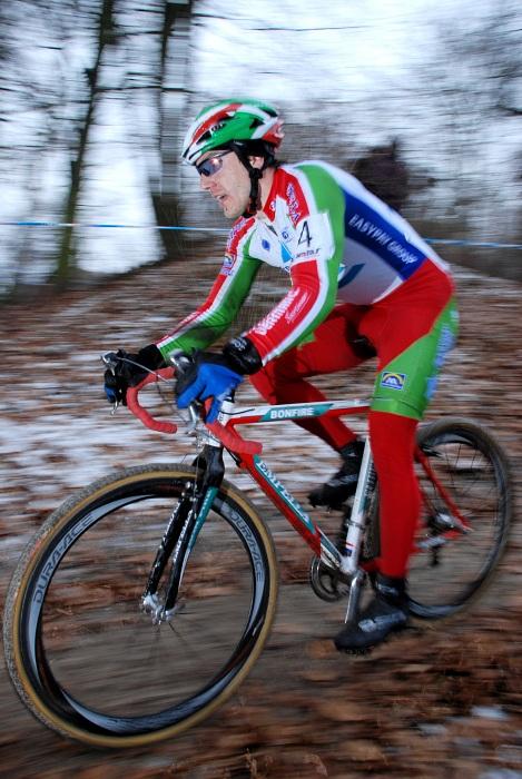 MČR Cyklokros 2008 - Kamil Ausbuher