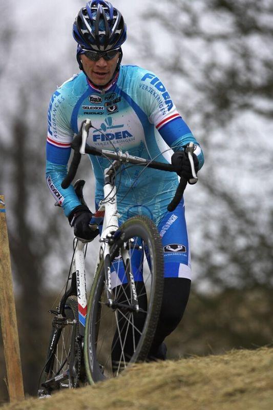 Mistrovství ČR cyklokros, Mnichovo Hradiště 5.1. 2008 - Petr Dlask