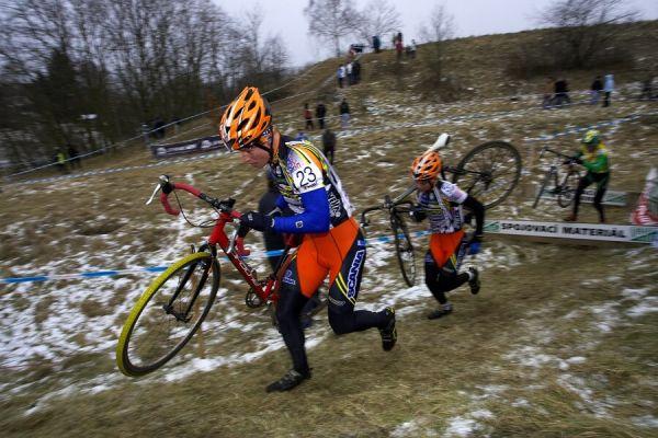 Mistrovství ČR cyklokros, Mnichovo Hradiště 5.1. 2008 - Filip Eberl