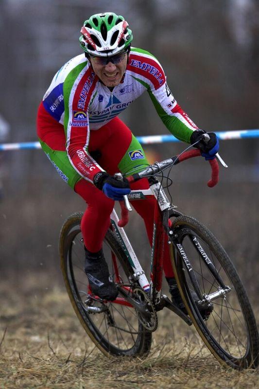 Mistrovství ČR cyklokros, Mnichovo Hradiště 5.1. 2008 - Kamil Ausbuher
