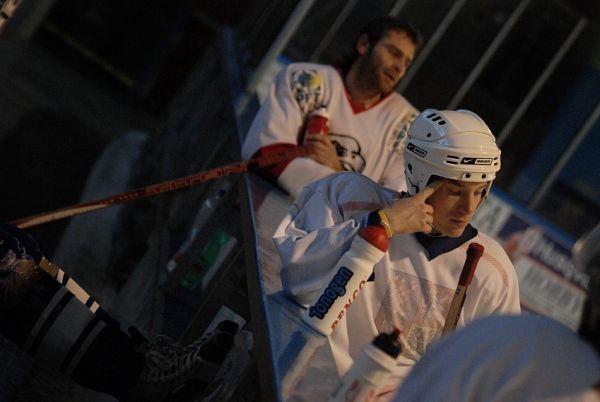 Hokejový turnaj ve Vimperku 9/12/07 - zlomená Sparta