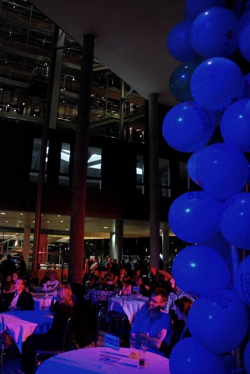 Finálový večer KPŽ - atrium Danube Hausu