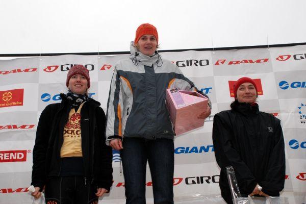 Giro Winter Trans Brdy 07 - nejlepší ženy v kategorii Z40