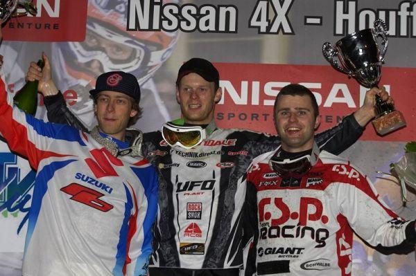 Nissan 4X Event - Houffalize 19.4.2008 - 1. Joost Wichman, 2. Kamil Tatarkovi�, 3. Jurg Meijer