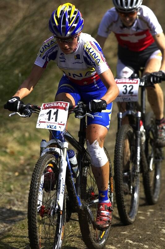 Nissan UCI MTB World Cup XC #1 - Houffalize 20.4.2008 - Kateřina Nash
