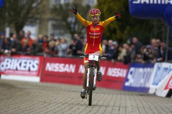Nissan UCI MTB World Cup XC #1 - Houffalize 20.4.2008 - Chengyuan Ren obhájila vítězství z loňska