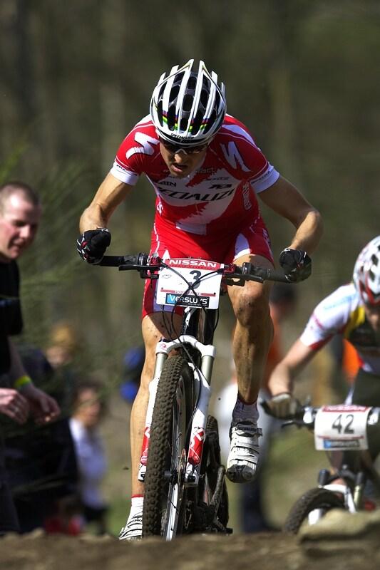 Nissan UCI MTB World Cup XC #1 - Houffalize 20.4.2008 - Christoph Sauser
