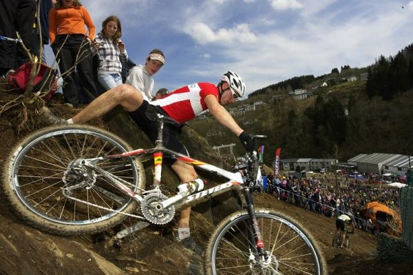 Nissan UCI MTB World Cup XC #1 - Houffalize 20.4.2008 - m�sto nej�ast�j��ch p�d�