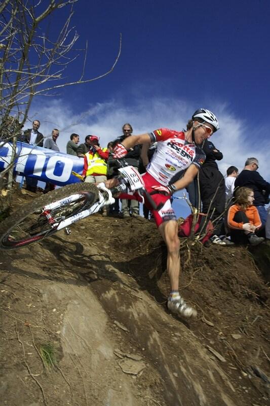 Nissan UCI MTB World Cup XC #1 - Houffalize 20.4.2008 - I Kristián Hynek měl v technickém úseku potíže