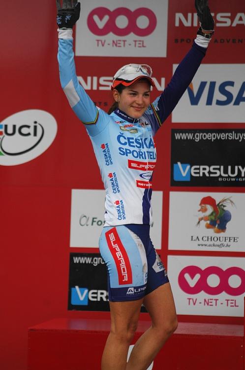 SP XC #1 2008 Houffalize - Tereza Huříková třetí v kategorii U23