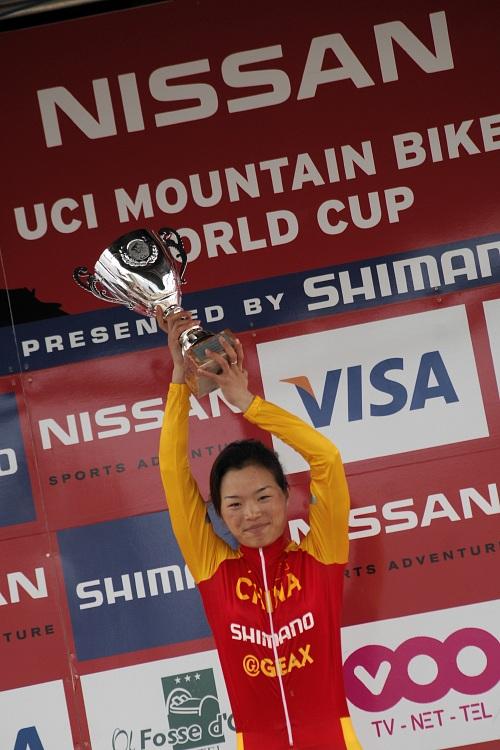 SP XC #1 2008 Houffalize - Ren Chengyuan vítězkou!