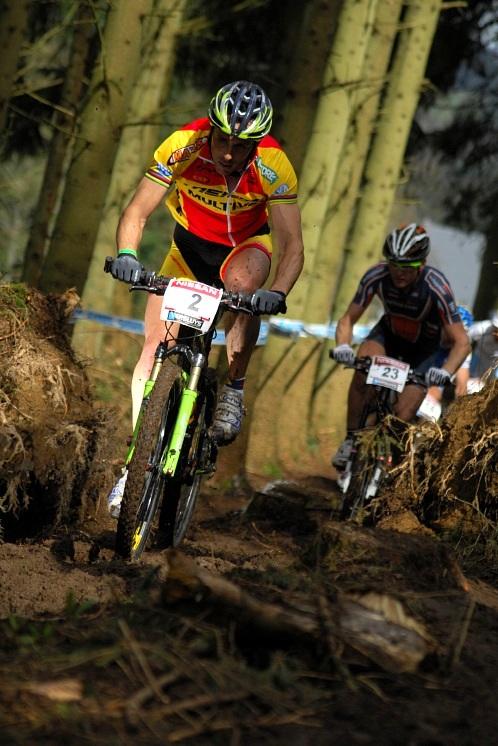SP XC #1 2008 Houffalize - Jose Antonio Hermida na čele