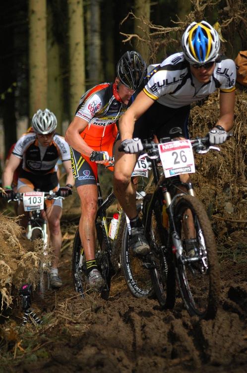 SP XC #1 2008 Houffalize -Stefan Sahm a Filip Eberl
