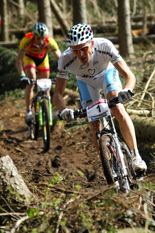SP XC #1 2008 Houffalize - Julien Absalon a Jose Antonio Hermida