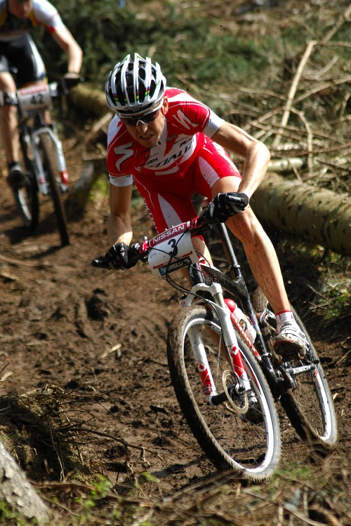 SP XC #1 2008 Houffalize - Christoph Sauser