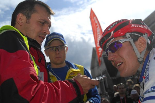 SP XC #1 2008 Houffalize - Interview pro MTBS