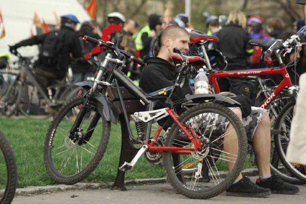 Pražská jarní cyklojízda 2008 - Když jí miluješ, není co řešit...