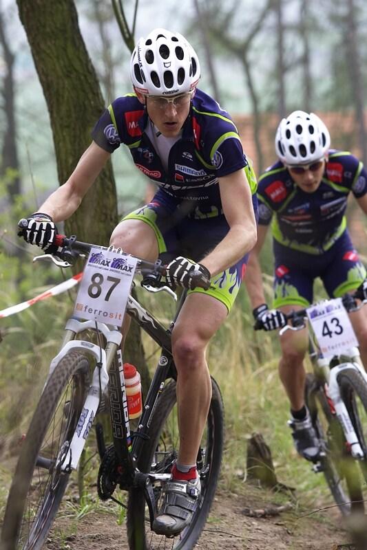 """ČP XC #1 Pardubice 2008 - """"Džobr"""" s """"Mártym"""""""
