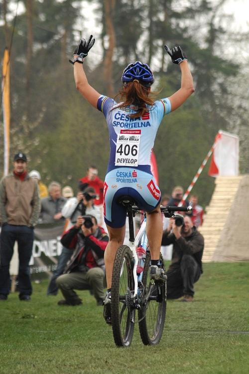 ČP XC #1 Pardubice 2008 - Tereza Huříková vítězí