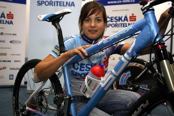 Česká spořitelna MTB 2008 - Tereza Huříková