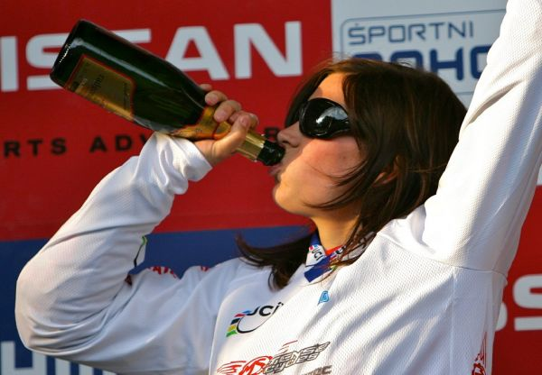 Anneke Beerten SP 4X #1 - Maribor 2008
