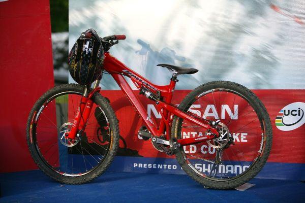 Bike Anneke Beerten SP 4X #1 - Maribor 2008