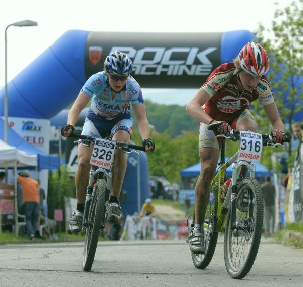 RockMachine XC Cup - 2. závod 8.5.2008 - Magnusek a Cink v boji o zlato v závěrečném kole...