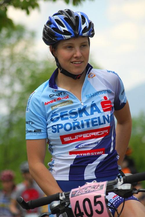 Český pohár XC Teplice, 8.5.2008 - Tereza Jansová