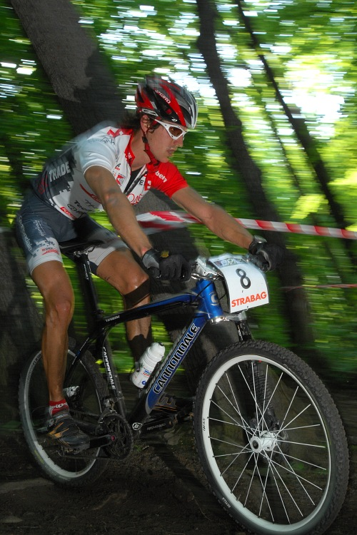 Český pohár XC Teplice, 8.5.2008 - Jirka Novák