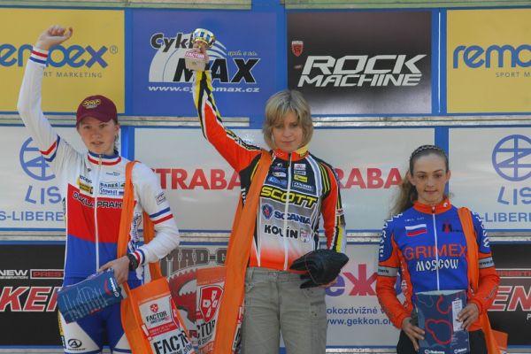 Český pohár XC Teplice, 8.5.2008 - kadetky