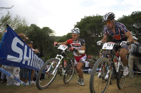 Nissan UCI MTB World Cup XC #3 - Madrid 4.5.'08 - Kristi�n Hynek