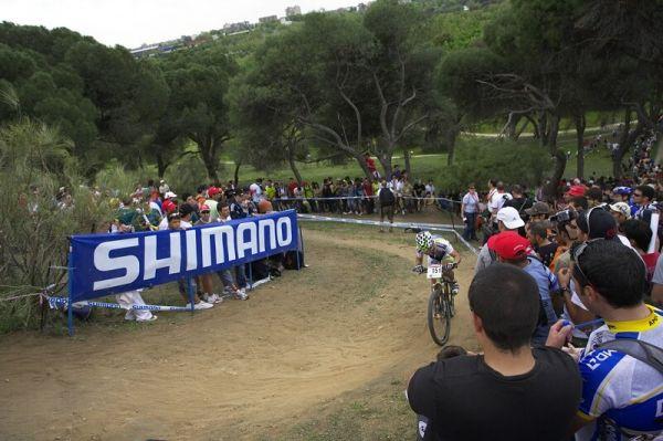 Nissan UCI MTB World Cup XC #3 - Madrid 4.5.'08 - nejtěžší výjezd