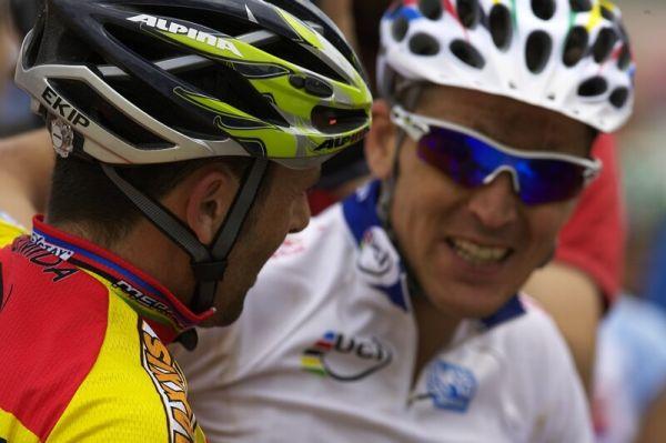 """Nissan UCI MTB World Cup XC #3 - Madrid 4.5.'08 - """"Zatím na mě nemáš kámo!"""""""