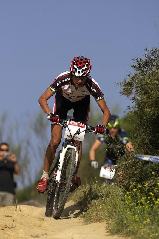Nissan UCI MTB World Cup XC #3 - Madrid 4.5.'08 - Marga Fullana byla po startu opět v čele
